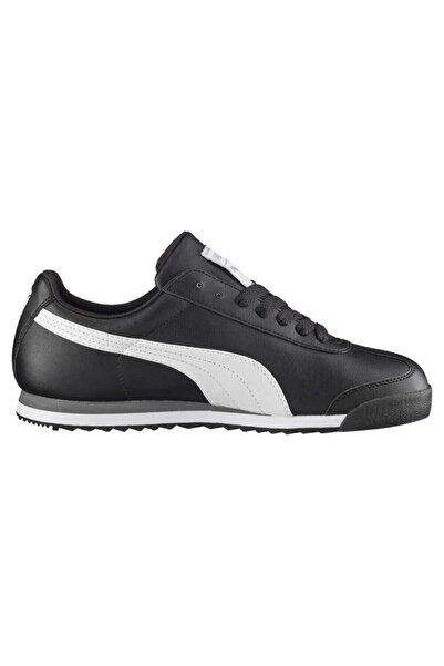Puma Unisex Siyah Roma Basıc Sneaker 353572