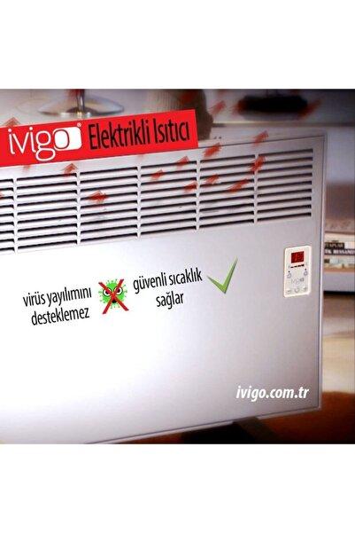 Vigo 4590 Djt 2500 W Beyaz Ayak+askı Konvektör Isıtıcı