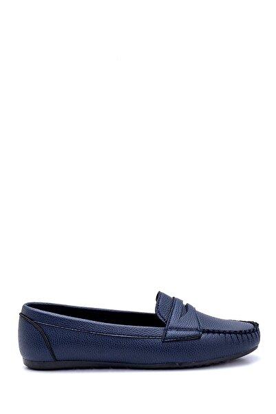 Derimod Kadın Lacivert Loafer Ayakkabı