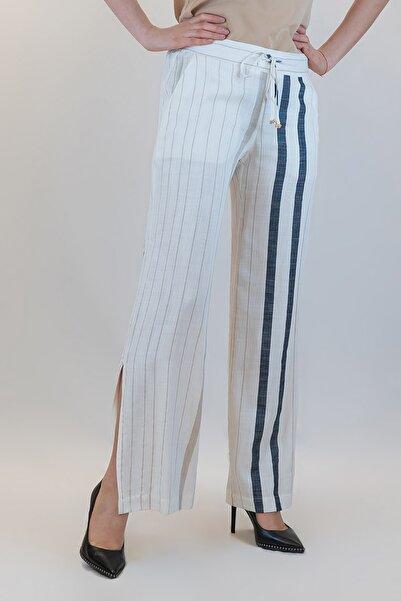 GİZİA Kadın Ekru Pantolon
