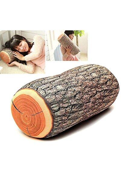 S&D Odun Görünümlü Yastık Dekoratif Hediyelik