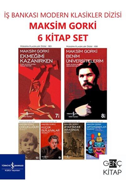 İş Bankası Kültür Yayınları Iş Bankası Maksim Gorki 6 Kitap Set Modern Klasikler Dizisi Çocukluğum-ekmeğimi Kazanırken