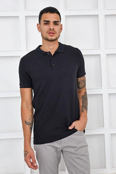 Fabrika Rahat Polo T-shirt - Siyah