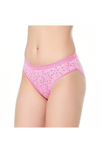 Tutku Kadın Yıldız Bikini Pembe 3'lü Paket