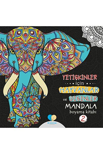 Mor Elma Yayıncılık Yetişkinler Için Hayvanlar Ve Desenler Mandala Boyama Kitabı-2