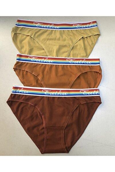 Tutku Kadın Bikini Külot 6'lı Paket 0524 Msnv0524unl6