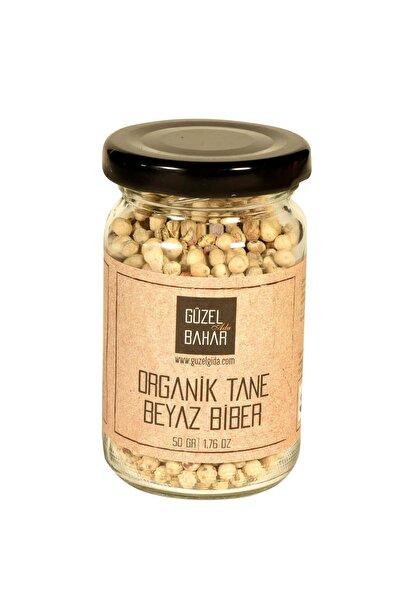 Güzel Gıda Organik Tane Beyazbiber 50 gr