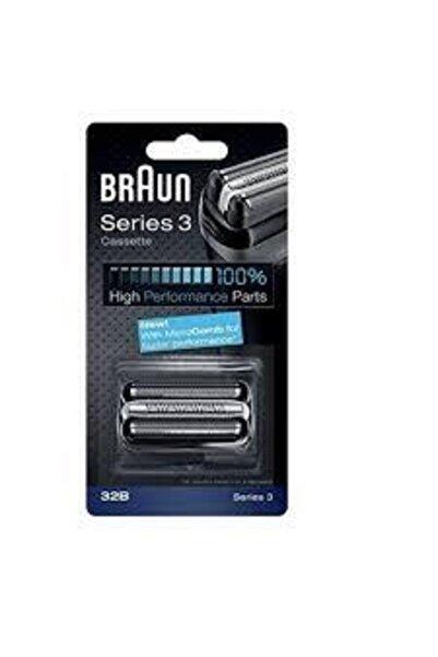 Braun Series 3 Tıraş Makina Yedek Başlık Bıçak Elek Cassette 32b