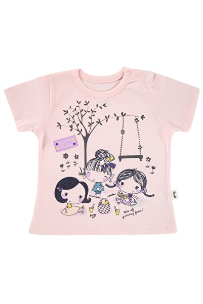 Civil Baby Kız Bebek Tişört