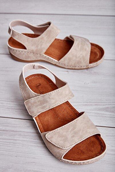 Bambi Bej Kadın Sandalet L0581005671