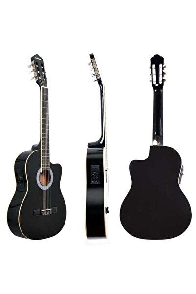 Rodriguez Gitar Elektro Klasik Kesik Kasa Eq Siyah Rcce650bk