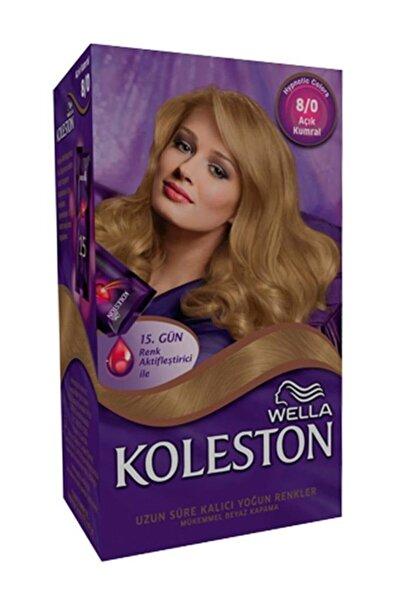 Koleston Açık Kumral Saç Boyası Kit 8.0