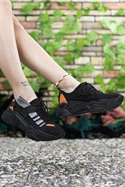 Kadın Siyah Sneaker 0012104