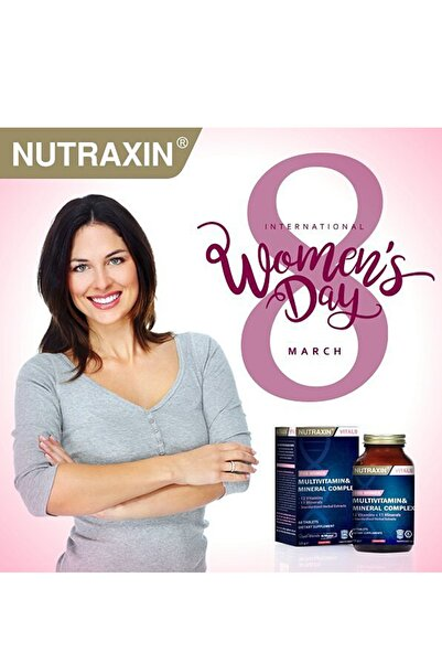 Nutraxin Multivitamin Mineral Complex Kadın 60 Tablet