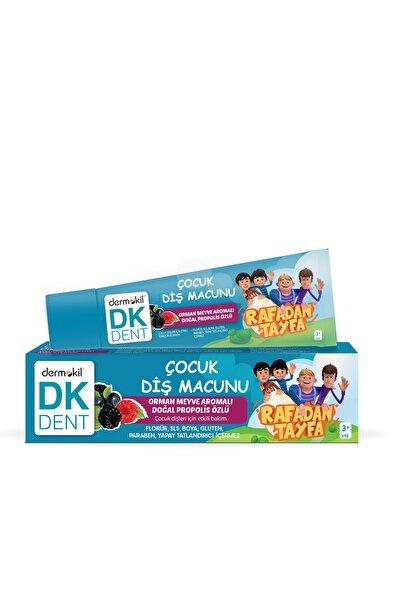 Dermokil Dk Dent Rafadan Tayfa Orman Meyve Aromalı Vegan Çocuk Diş Macunu 50 Ml