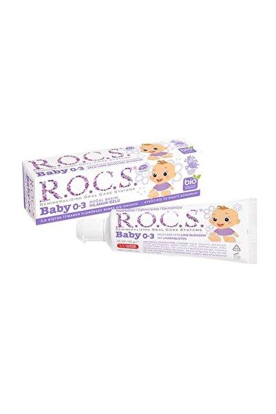 R.O.C.S. Rocs Baby 0-3 Yaş Diş Macunu Ihlamur Özlü 35 Ml