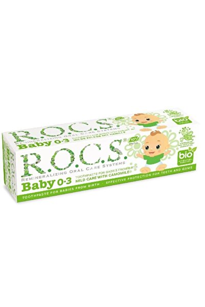R.O.C.S. Rocs Baby Papatya Özlü Diş Macunu (0-3yaş)