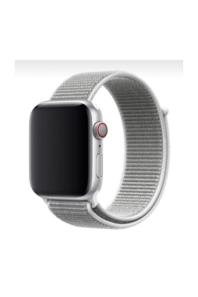 Mahzen Apple Watch 1-2-3-4-5 Serisi ( 42mm - 44mm ) Uyumlu Spor Loop Kordon