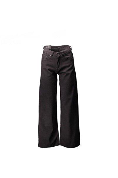 Collezione Kadın Siyah Jean Wide Leg Ucb021895a41