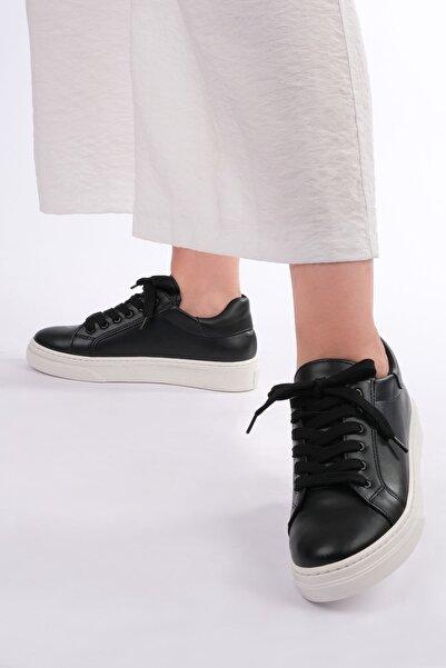 Marjin Balen Kadın Sneaker Ayakkabısiyah