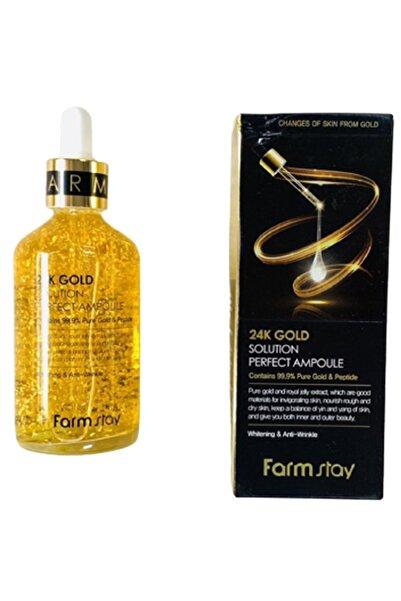 Farmstay Unıversal Marketıng 24k Altın Içerikli Parlatıcı Ve Kırışıklık Giderici Ciltbakım Solüsyonu 100 ml