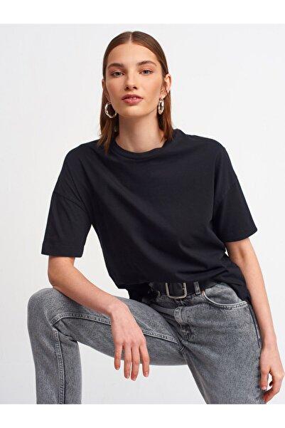 Dilvin Kadın Siyah T-Shirt3683