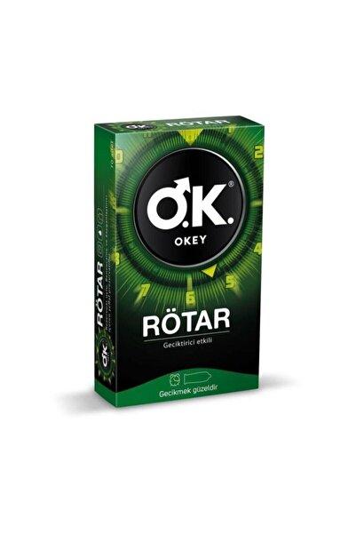 Okey Rötar Prezervatif 10'lu 1 Paket Orjinaldir
