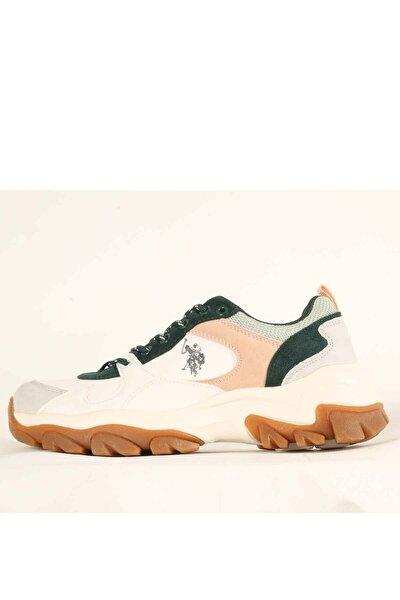 U.S POLO TRACKY Beyaz Kadın Fashion Sneaker 100551452