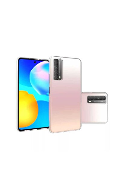 Huawei P Smart 2021 Kılıf Şeffaf Tam Koruma Esnek Süper Silikon Model