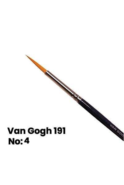 Van Gogh Sulu Boya Fırçası Yuvarlak Uçlu Seri 191 No 4