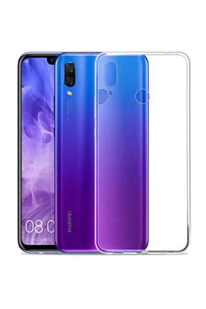 Huawei P Smart 2019 Kılıf Şeffaf Tam Koruma Esnek Süper Silikon Model