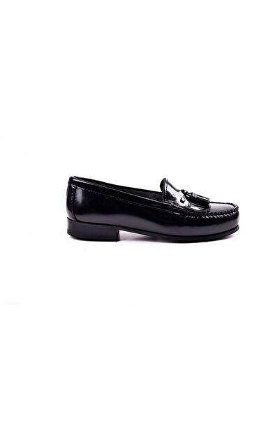 Dexter Kadın Siyah Loafer Ayakkabı