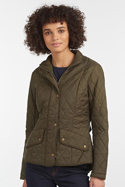 Barbour Kadın Yeşil Cepli Ceket Ol56