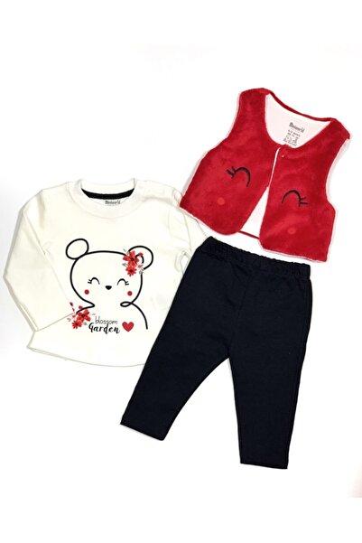 Miniworld Kırmızı Fiyonklu Tavşan Yelekli Takım