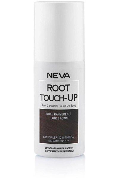 Neva Koyu Kahverengi Root Touch-up Beyaz Kapatıcı Sprey 75 ml