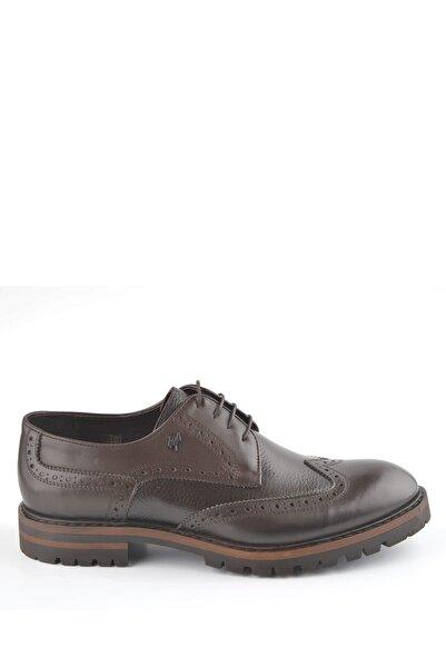 İgs Erkek Kahverengi Deri Günlük Ayakkabı