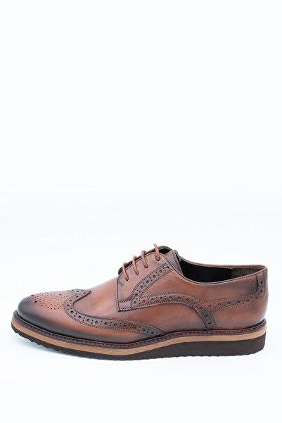 İgs Erkek Deri Günlük Ayakkabı I1911459-2 M 1000 Taba
