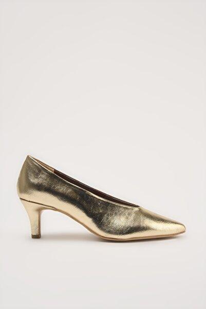 Hotiç Gold  Klasik Topuklu Ayakkabı 01AYH213640A540
