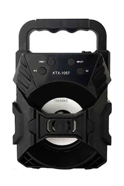 POLYGOLD Ktx-1057 Işıklı Bluetooth Hoparlör Ses Bombası Yüksek Ses