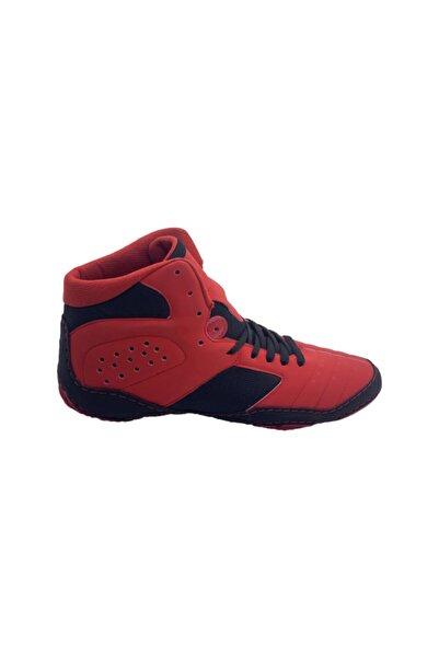 More Sports Unisex Kırmızı Güreş Ayakkabı