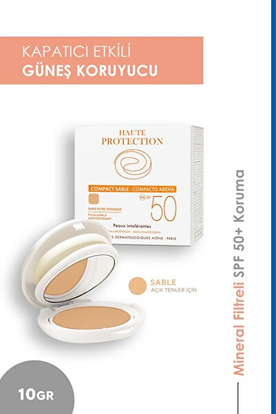 Avene Haute Protection Compact Teintee Sable Spf 50 10 gr