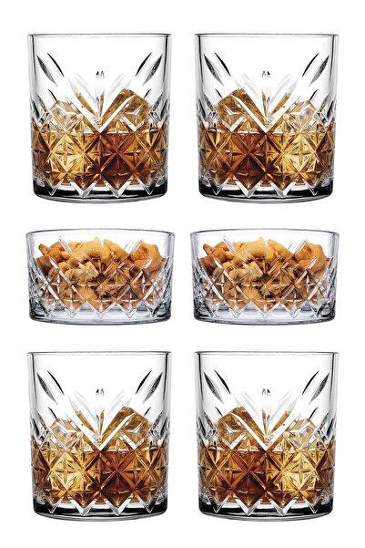 Paşabahçe 6 Parça Tımeless Viski Keyfi Seti - 4 Viski Bardağı + 2 Çerezlik Kase