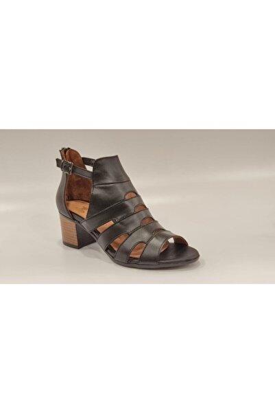 Venüs Kadın Ayakkabı 1857211y Arkadan Fermuarlı Yazlık Deri