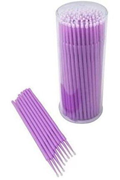Lash Lifting Microbrush Çubukları 100'lü