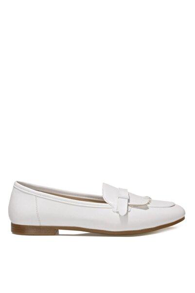İnci GINA.Z 1FX Beyaz Kadın Loafer Ayakkabı 101033730