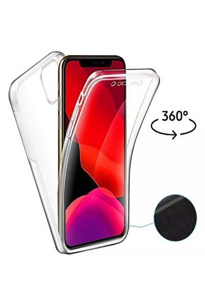 ucuzmi Iphone 11 Ön Arka Şeffaf Silikonlu Kılıf 360 Derece Tpu 3d Body Dizayn 2x Koruma