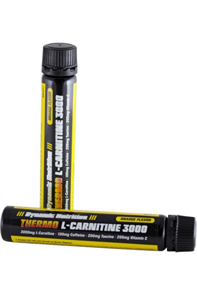 Dynamic Nutrition Dynamic Thermo L-Carnitine 3000 mg 1 Ampül (25 ml)