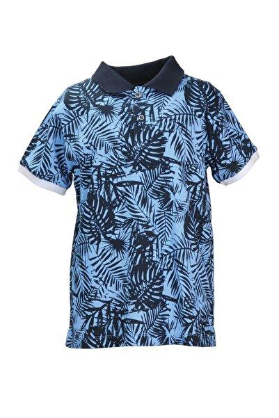 Zeyland Lacivert Blue Forest Polo Yaka T-shirt (9AY-10YAŞ)