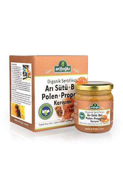 Arifoğlu Organik Arı Sütü + Bal + Polen + Propolis Macun 230 gr