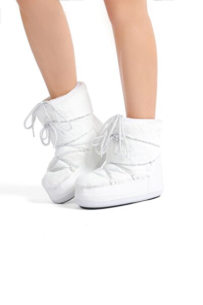 Oblavion Kadın Beyaz Soft Kar Botu